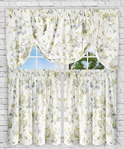 Simple Abigail Traditional Hydrangea Floral Print