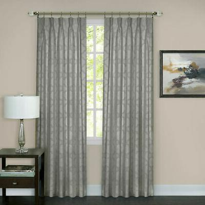 Achim Windsor Pinch Pleat Window Curtain Panel