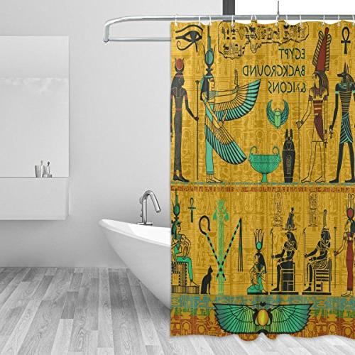 african home decor shower curtain