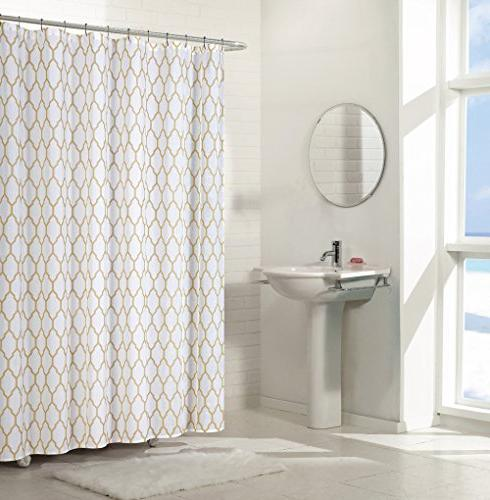 aria trellis chic fabric shower