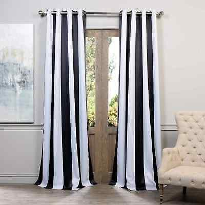 awning printed blackout grommet curtains sol