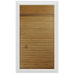 Calyx Interiors Bamboo Roman Shade, 27-Inch Width by 54-Inch