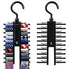Belt And Tie Rack Hanger Organizer Non Slip Holder Cross X D