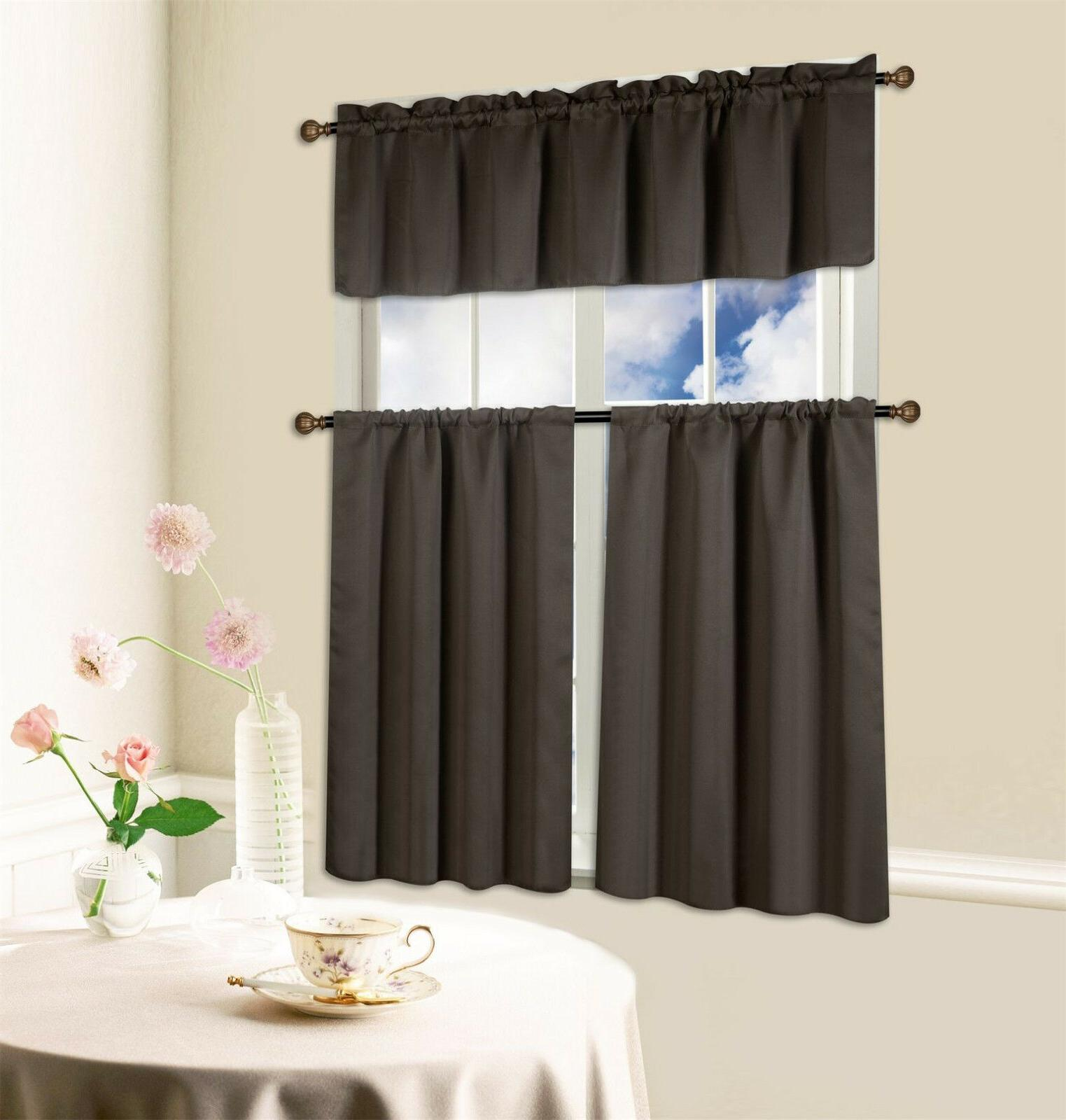 Beth Blackout Valance Curtain inches wide inches