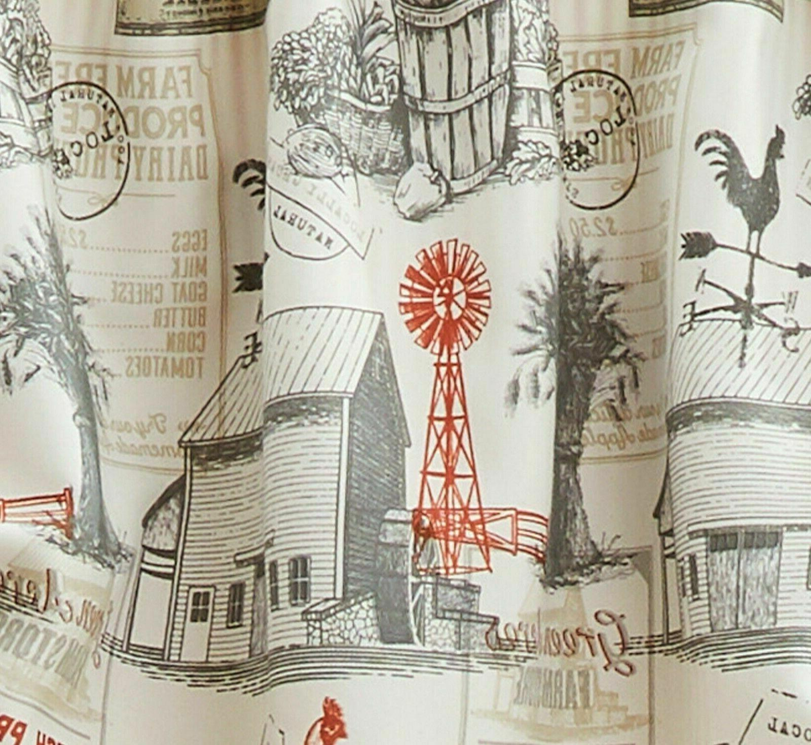 Better Homes & Gardens Country Rustic Valance