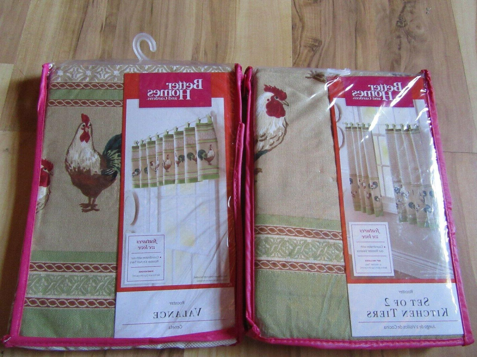 better homes and gardens kitchen curtains brand