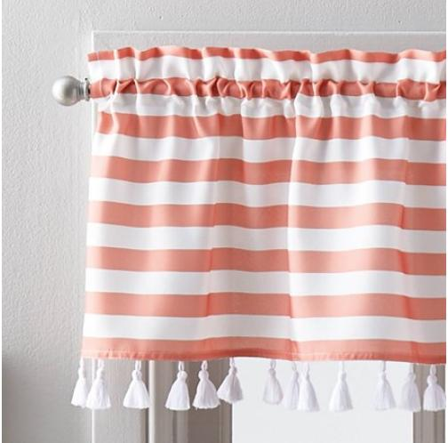 better homes and gardens stripes w tassels