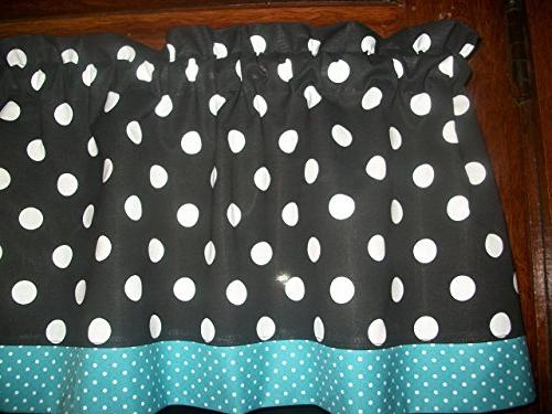 black white blue polka dot