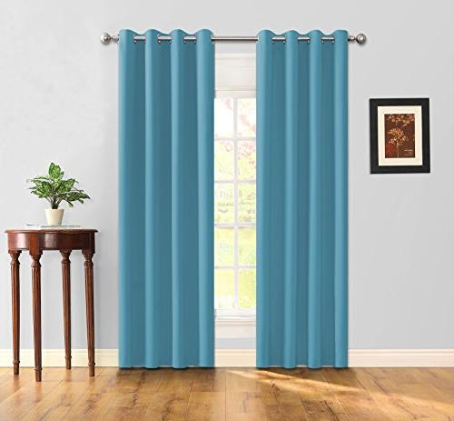 blackout 2 panels curtains room