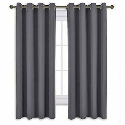 bedroom blackout curtains panels window treatment thermal