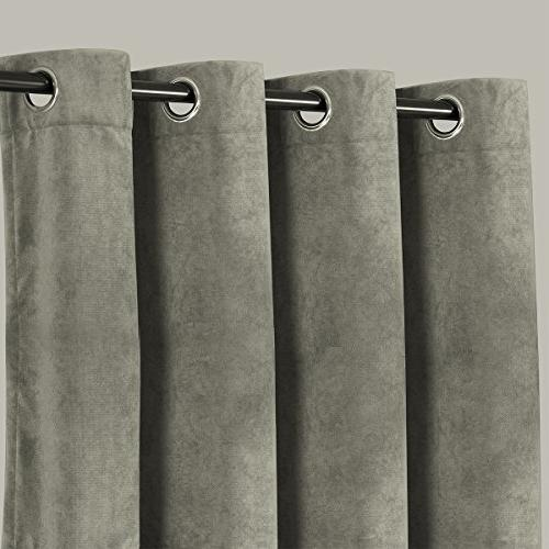 """Alice Brown Blackout Panels for Bedroom,Window Curtains Drapes,Curtains Room 52"""" W 84"""" L"""