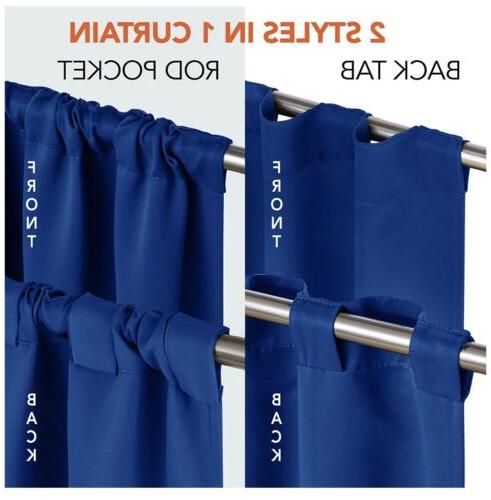 deconovo Insulated 52x45 Blue