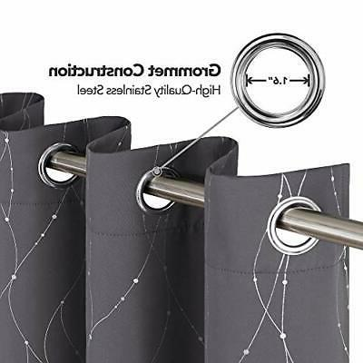 Blackout Grommet Thermal Curtains D