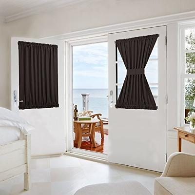 blackout thermal insulated curtain panel for patio
