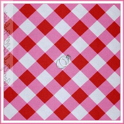 BonEful Quilt Red White Plaid Check Gingham Cottage