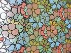Kittrich Corp. 03-602-01 Stained Glass Floral Window Film Co