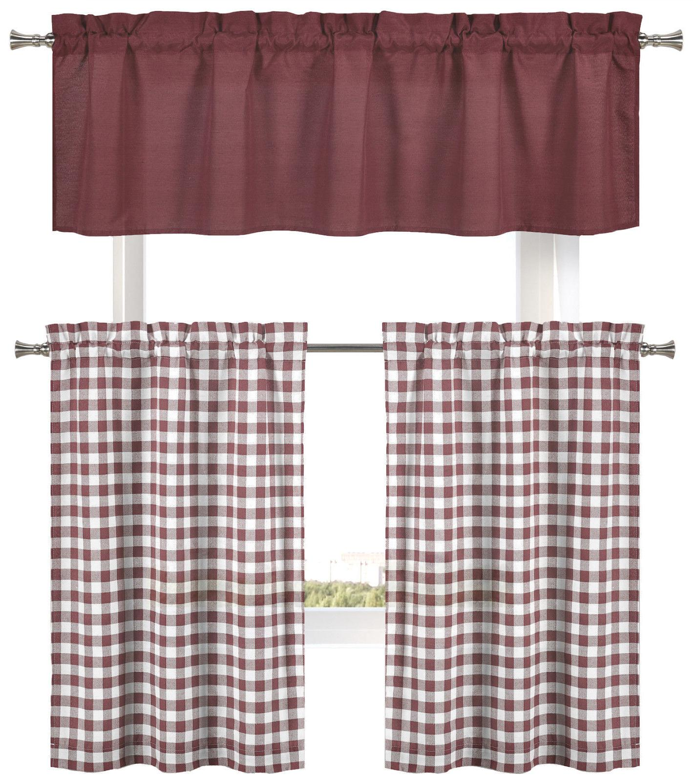 Country Accents Plaid Set - Assorted