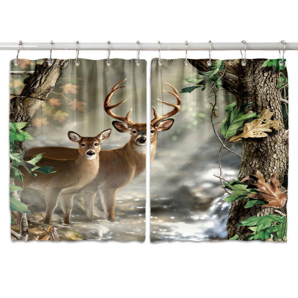Cute And Forest Kitchen Drapes 2 55*39""