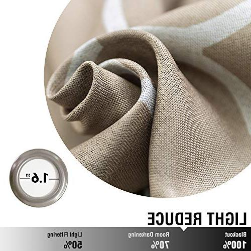 Dark Taupe Curtains Panel Long Living Curtains Kitchen Insulated Window Grommet
