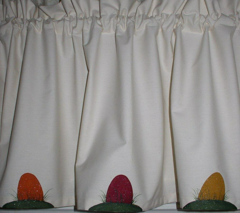 Easter Valances Primitive Country Curtains
