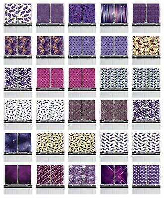 eggplant kitchen curtains 2 panel set window