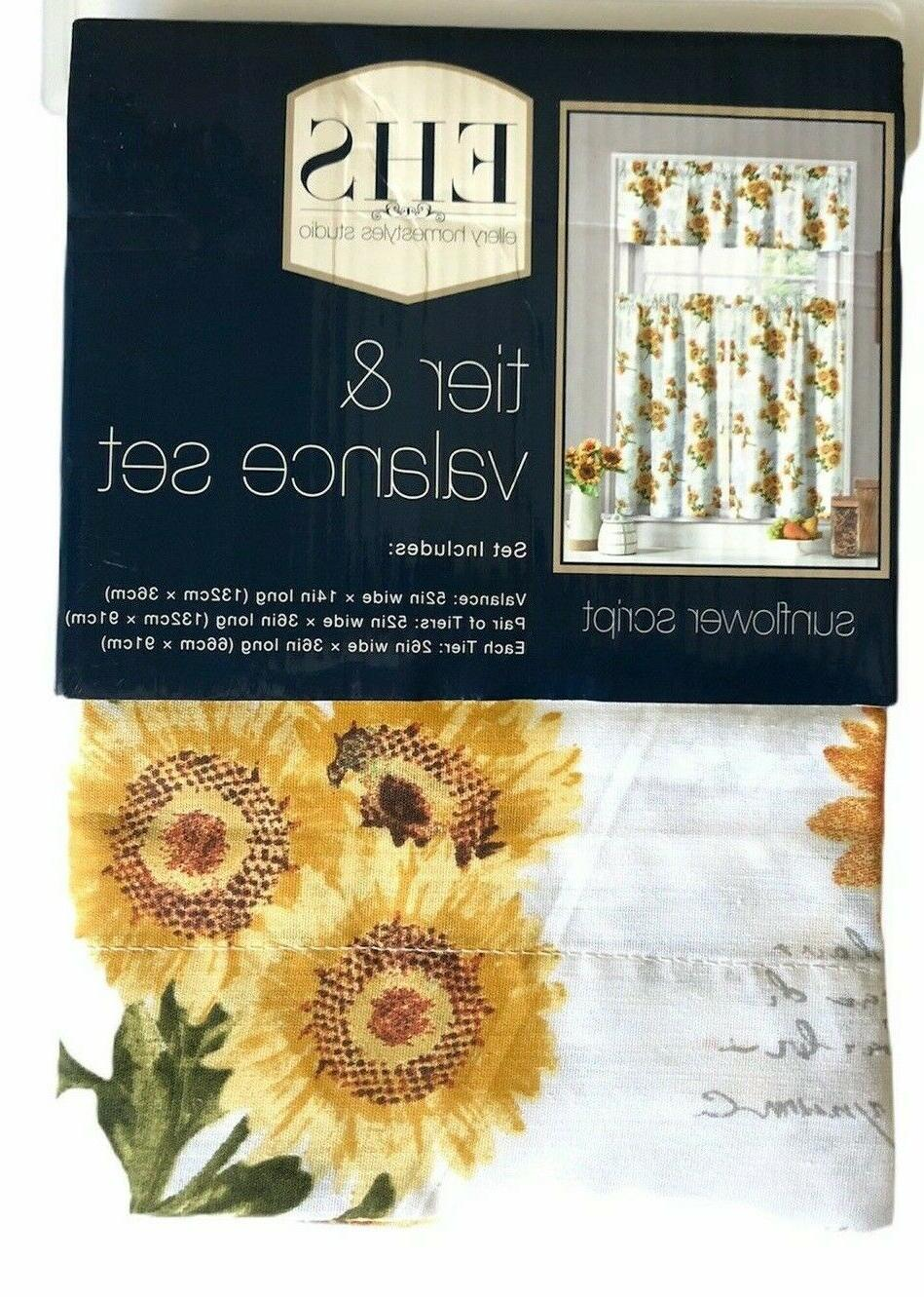 ellery homestyles 36 inch tiers and valance