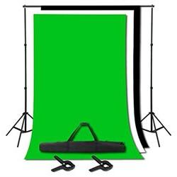 Emart Photography Background Support Backdrop Stand Kit with