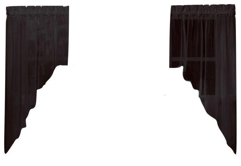 Emelia Kitchen Curtain - Swags, Valances -