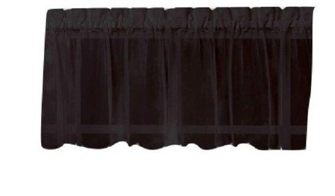 Emelia Sheer Curtain - colors - Tiers, Valances - NEW