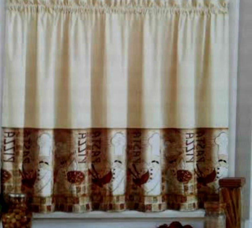 Tiers & Valance by Design Tan