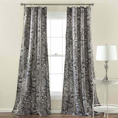 Lush Decor Window Curtain Pair