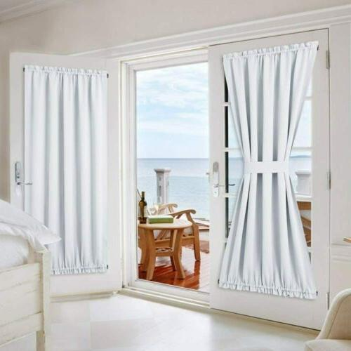 french door curtains and draperies for privacy