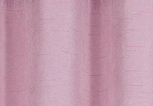 Girls Pink 2 Panels Room Kitchen Curtains