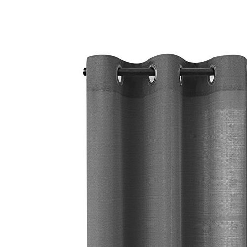Grey Kitchen for Curtains Casual Privacy Window inch Grommet Top