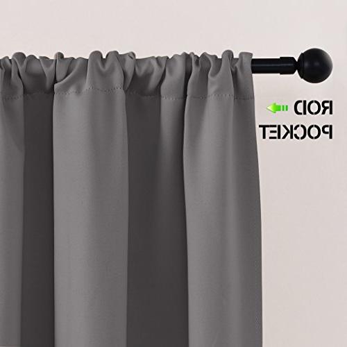 """PONY Tier Rod Blackout Window Small Curtains Tailored Tiers/Valances for x 36"""","""