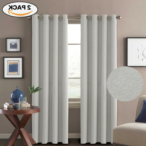 H.VERSAILTEX Linen Curtains Natural Look Thermal Insulated G