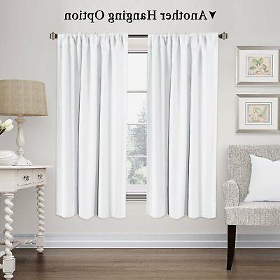 H.VERSAILTEX Curtains Thermal Insulated Window Shade Light