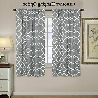 H.VERSAILTEX Thermal Blackout Curtains - Tie Shades