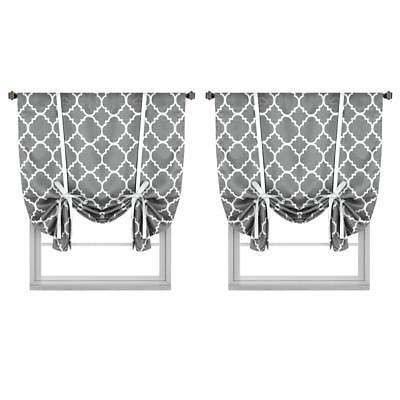 h versailtex thermal insulated blackout curtains tie