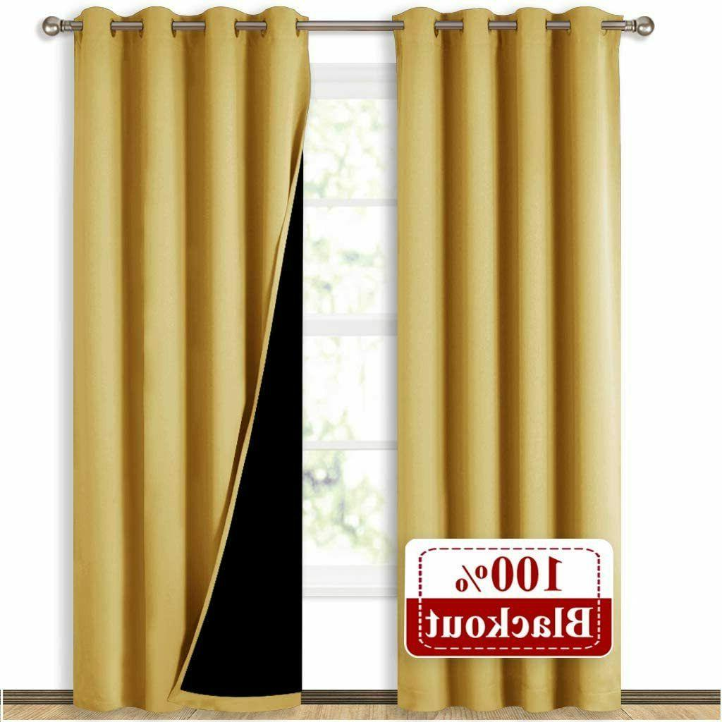 high end thermal curtains full blackout curtains