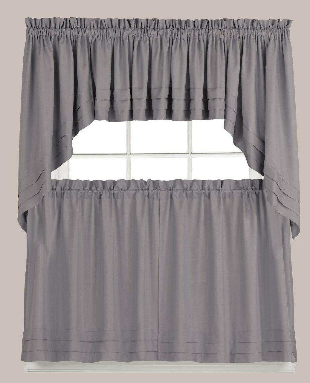 holden grey kitchen curtain collection brand new