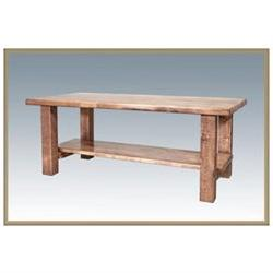 Montana Woodworks Homestead Coffee Table - Stained and Lacqu