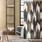 Ink+Ivy II70-541 100% Cotton Printed Shower Curtain NEW