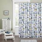 Ink+Ivy Kids IIK70-027 Kids 100% Cotton Printed Shower Curta