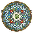 Design Toscano Kaleidoscope Stained Glass Window