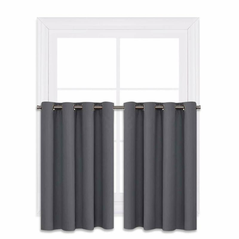 NICETOWN Blackout Window Curtains for Kitchen - Thermal Insu