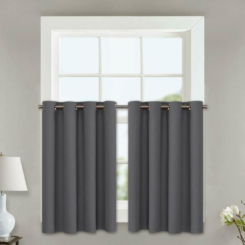 Nicetown Kitchen Blackout Window Curtains Insulated Home