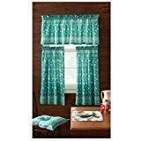 Pioneer Woman Kitchen Curtain and Valance 3pc Set