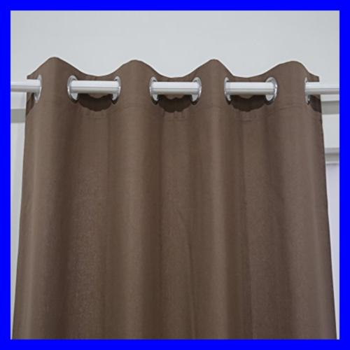 Kitchen Curtains Thermal Grommet Panel W SILVER Coatin