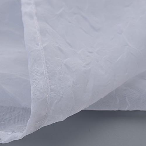 NICETOWN Panels- High Thread Sheer Voile With Rod Pocket/Back Tab Bedroom Window